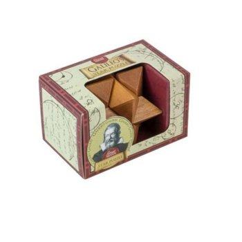 3D пъзел Proffesor Puzzle Great Minds Galileo's Star, дървен, 6 части, логически image