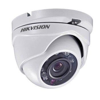 HDCVI камера Hikvision DS-2CE56D0T-IRMF, куполна камера, 2MP (1920x1080@30fps), 2.6 mm, IR осветление (до 25m), IP67 image