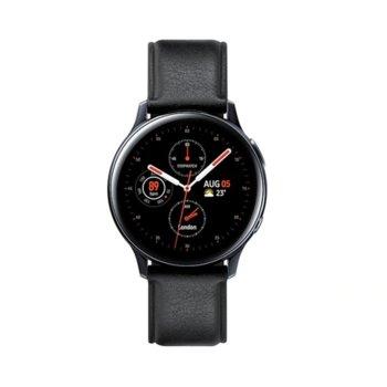 Смарт часовник Samsung Galaxy Watch Active2 SM-R830N (SM-R830NSKABGL), до 95 часа време за работа, неръждаема стомана, черен image