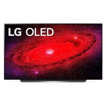 """Телевизор LG OLED55CX3LA, 55"""" (139.7 cm) OLED Smart TV, 4K, DVB-T2/C/S2, Wi-Fi, LAN, Bluetooth, 4x HDMI, 3x USB, енергиен клас G image"""