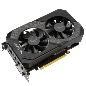 Видео карта Nvidia GeForce GTX 1660 Ti, 6GB, Asus TUF Gaming EVO (90YV0CT8-M0NA00), PCI-E 3.0, GDDR6, 192-bit, DP, HDMI, DVI image