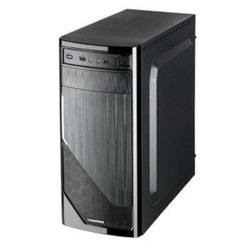 Кутия TrendSonic FC-F52A, ATX, черна, със захранване 550W image