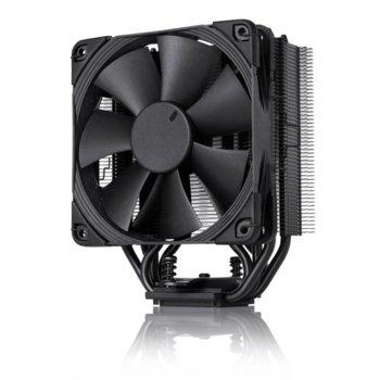 Охлаждане за процесор Noctua NH-U12S chromax.black, съвместим с Intel LGA2011/LGA1156/LGA1155/LGA1150 & AMD/AM2/AM2+/AM3/AM3+/АМ4/FM1/FM2 image