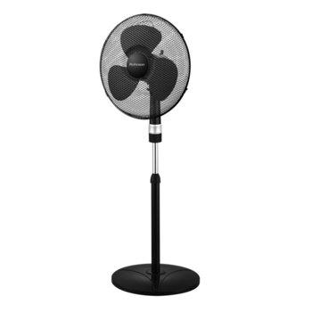 Настолен вентилатор Rohnson R-839, 3 скорости, 40 см. диаметър, 50W, черен image