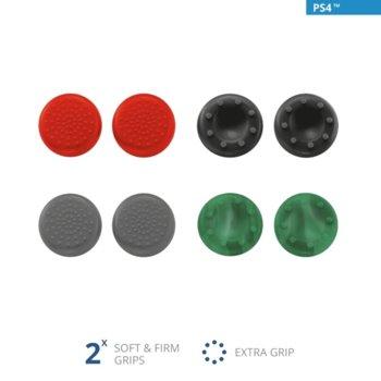 Гумени тапи Trust GXT 262 Thumb Grips 8-pack за PS4 контролер image