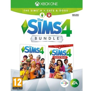 Игра за конзола The Sims 4 + Cats & Dogs Expansion Pack Bundle, за Xbox One image