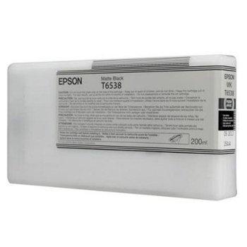 Касета за Epson Stylus Pro 4900 - Matte Black - P№ C13T653800, 200ml image
