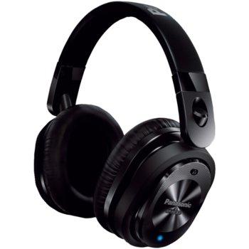 Слушалки Panasonic RP-HC800E-K, безжични, Bluetooth, NFC, микрофон, до 40 часа, черни image
