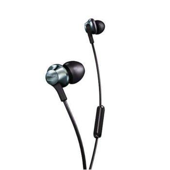 Слушалки Philips Pro series In-ear, микрофон, черни image