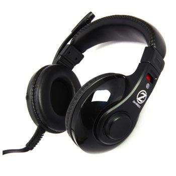 Слушалки Zalman ZM-HPS200, микрофон, черни image