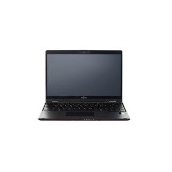 "Лаптоп Fujitsu Lifebook U939X (S26391-K492-V200_SOL_PR)(червен), четириядрен Whiskey Lake Intel Core i7-8665U 1.9/4.8 GHz, 13.3"" (33.78 cm) Full HD Touchscreen Display, (HDMI), 8GB, 512GB SSD, 1x USB Type C, Windows 10 Pro  image"