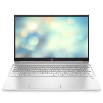 "Лаптоп HP Pavilion 15-eg0010nu (2U2D2EA)(бял), четириядрен Tiger Lake Intel Core i7-1165G7 2.8/4.7 GHz, 15.6"" (39.62 cm) Full HD IPS Anti-Glare Display, (HDMI), 16GB DDR4, 512GB SSD, Free DOS image"