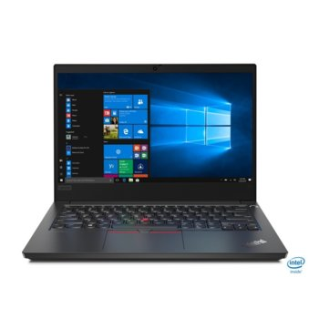 "Лаптоп Lenovo ThinkPad Edge E14 (20RA0016BM/3), четириядрен Comet Lake Intel Core i5-10210U 1.6/4.2 GHz, 14.0"" (35.56 cm) Full HD IPS Anti-Glare Display, (HDMI), 8GB DDR4, 256GB SSD, 1x USB 3.1 Type-C, Windows 10 Pro  image"