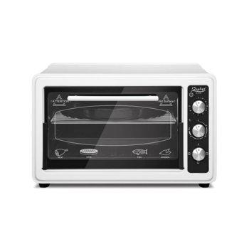 Готварска печка Zephyr ZP 1441 T50, 1400W, 50 л обем, терморегулатор, таймер, бяла image