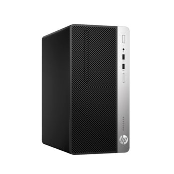 Настолен компютър HP ProDesk 400 G6 MT (7EL80EA), осемядрен Coffee Lake Intel Core i7-9700 3.0/4.7 GHz, Radeon R7 430 2GB, 8GB DDR4, 1TB HDD, 4x USB 3.1, клавиатура и мишка, Windows 10 Pro image