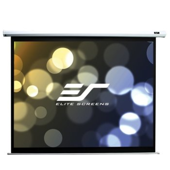 "Екран Elite Screens Saker SK100XVW-E10, за стена, White, 2032 x 1524 мм, 100"" (254 cm), 4:3 image"