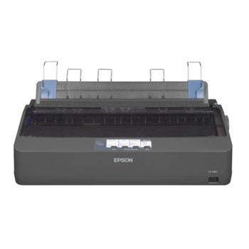 Матричен принтер Epson LX-1350, 240x144 dpi, 78 chars/s, 128kB Included, USB, 2г.  image