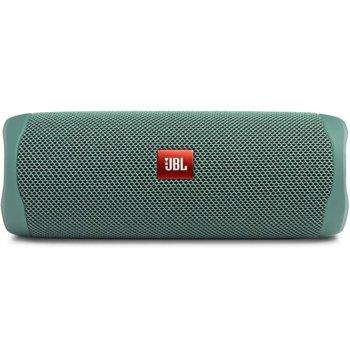 Тонколона JBL Flip 5 ECO GREEN, 1.0, 20W, USB, Bluetooth, зелена, до 12ч. време на работа, влагоустойчива (IPX7) image