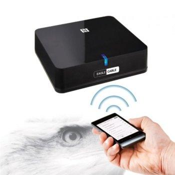 Bluetooth приемник Eagle cable, Bluetooth 3.0 + DER, до 10 м., черен image