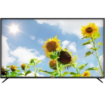 "Телевизор Arrieli LED-6519UHD SMART, 65"" (165.1 cm) 4K ULTRA HD, DVB-T2/C/S2, Wi-Fi, 3x HDMI, 2x USB image"