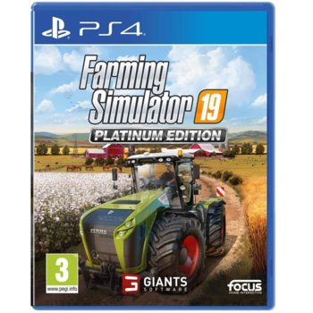 Игра за конзола Farming Simulator 19 - Platinum Edition, за PS4 image