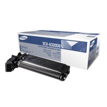 Касета за Samsung SCX-6220/SCX-6320F/SCX-6322DN/SCX-6122FN - SV171A - SCX-6320D8 - Black -Заб.: 8 000k image