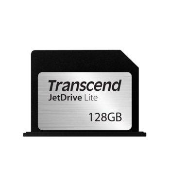 Карта памет 128GB, Transcend JetDrive Lite 360, съвместима с MacBook Pro (Retina), скорост на четене 95MB/s, скорост на запис 60MB/s image