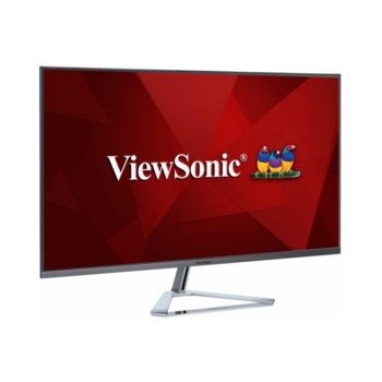 "Монитор ViewSonic VX3276-2K-MHD, 31.5"" (80.01cm) IPS панел, WQHD, 4ms, 80 000 000:1, 250 cd/m2, 1x Display Port, 1x miniDisplay Port, 2x HDMI image"