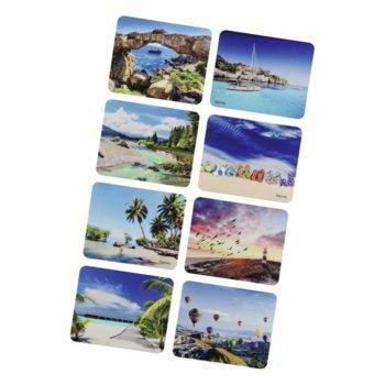 Подложка за мишка Hama Holiday(54791), с пейзажи, 220 x 180 x 10mm image