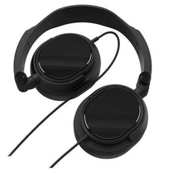 Слушалки Vivanco DJ 20 36515, сгъваеми, черни image