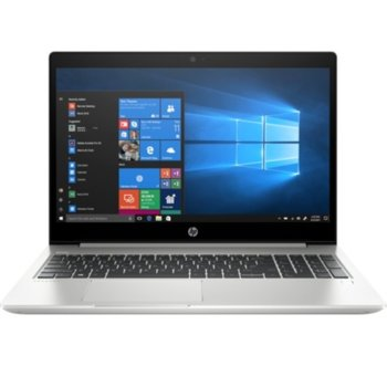 "Лаптоп HP ProBook 450 G6 (7DF51EA)(сребрист), четириядрен Whiskey Lake Intel Core i5-8265U 1.6/3.9 GHz, 15.6"" (39.62 cm) Full HD Display & GF MX 130 2GB, (HDMI), 8GB DDR4, 512GB SSD, 1x USB Type-C, Free DOS, 2.00 kg image"