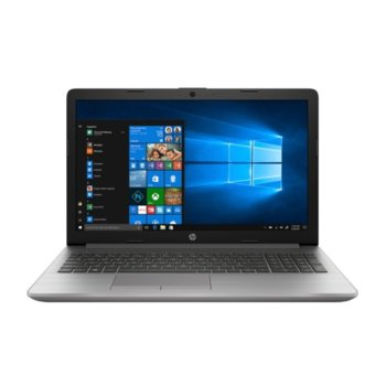 "Лаптоп HP 250 G7 (8MJ21ES)(сребрист), двуядрен Kaby Lake Intel Core i3-8130U 2.2/3.4 GHz, 15.6"" (39.6 cm) Full HD Display, (HDMI), 8GB DDR4, 256GB SSD, 2x USB 3.1 Gen 1, Free DOS image"