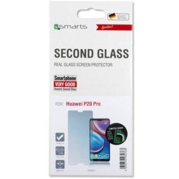 Протектор от закалено стъкло /Tempered Glass/, 4Smarts 4S496012, за Huawei P20 Pro  image