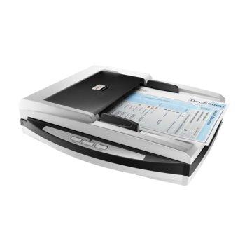 Скенер Plustek SmartOffice PN2040, 600dpi, A4, двустранно сканиране, ADF, USB, RJ-45 image