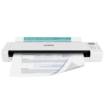 Преносим скенер Brother DS-920DW, 1200x1200dpi, A4, двустранно сканиране, Wi-Fi, USB image