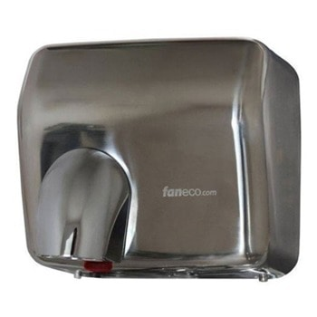Сешоар DA2500SFB, 2500W, за ръце, aвтоматичен старт с фотоклетка, 50 °C температура, монтиране на стена, IPX1 водоустойчив, сив image