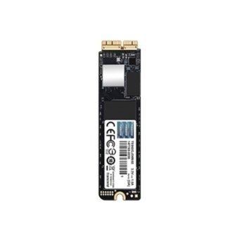 Памет SSD 240GB, Transcend JetDrive 850, NVMe PCIe Gen3 x4, M.2 (2280), скорост на четене 1,600MB/s, скорост на запис 1,300MB/s image