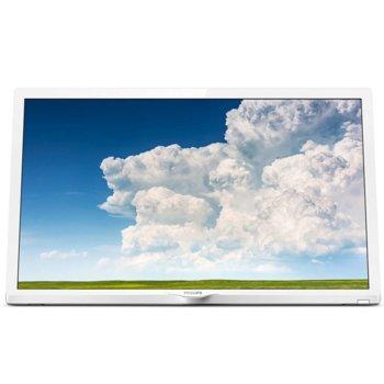 """Телевизор Philips 24PHS4354/12, 24"""" (60.96 cm)1366 x 768 LED TV, HD Ready, DVB-T/T2/T2-HD/C/S/S2, 2x HDMI, VGA, SCART, USB image"""