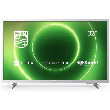 """Телевизор Philips 32PFS6855/12, 32"""" (81.28 cm) LED FULL HD Smart TV, HDR, DVB-T2/C/S2, Wi-Fi, 3x HDMI, 2x USB image"""