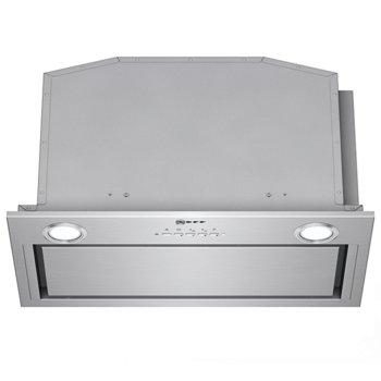 Абсорбатор Neff D55ML66N1, за вграждане, енергиен клас A++, 172 W, въздухопоток 730m3/h, три степени на скорост на управление, EfficientDrive технология, инокс image