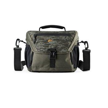 Чанта за фотоапарат Lowepro Nova 180 AW II Pixel Camo, за DSLR фотоапарати и обективи, полиестер, камулаж image