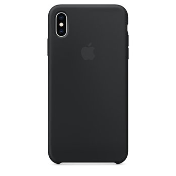 Apple iPhone XS Max Silicone Case - Black product