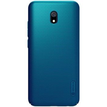 Калъф за Xiaomi Redmi 8A, поликарбонатен, Nillkin super frosted shield, син image