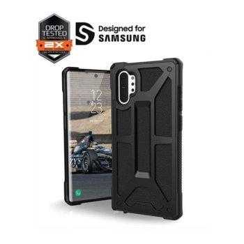 Калъф за Samsung Galaxy Note 10 Plus, хибриден, Urban Armor Monarch 211751114040, удароустойчив, черен image