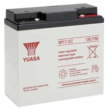 Акумулаторна батерия Yuasa NP17-12I, 12V, 17Ah, VRLA image