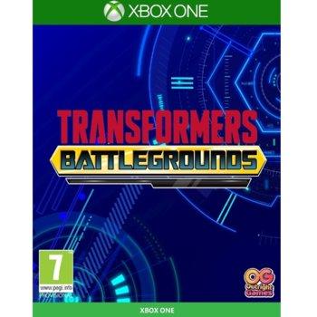 Игра за конзола TRANSFORMERS: BATTLEGROUNDS, за Xbox One image