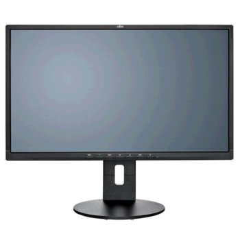 """Монитор Fujitsu B24-8 TS Pro (S26361-K1577-V160), 23.8"""" (60.5 cm) IPS панел, Full HD, 5 ms, 20 000 000:1, 250 cd/m2, HDMI, DVI, VGA image"""