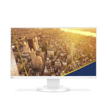 """Монитор NEC E221N (60004223), 22"""" (55.88 cm) IPS панел, Full HD, 6 ms, 250 cd/m2, DisplayPort, HDMI, VGA image"""