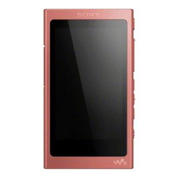 MP3 плейър Sony NW-A45, 16GB, Hi-Res Audio, 7.8cm дисплей, NFC/Bluetooth, червен image