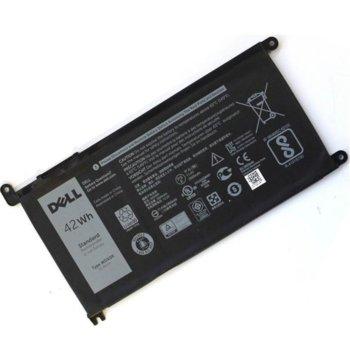 Батерия (оригинална) за лаптоп Dell, съвместима с модели Inspiron 13 5368 5378 7368 15 5538 5568 7570, 11.1V, 3783mAh image